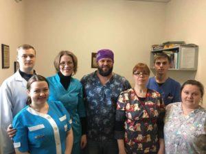 Сотрудники Хелса на мастер-классе С.В.Ткаченко