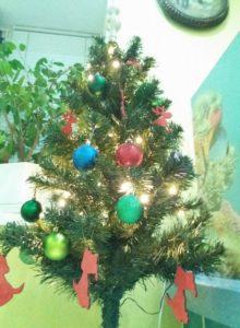 Новогодняя елочка в Хелсе