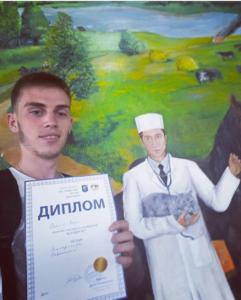 А.Кеда на конференции Алден-Вет, г. Киев